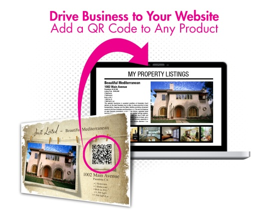 Drive business to your website with QR Codes