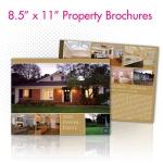 """8.5 x 11"""" Property Brochures"""