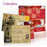 2012 Calendar Postcards