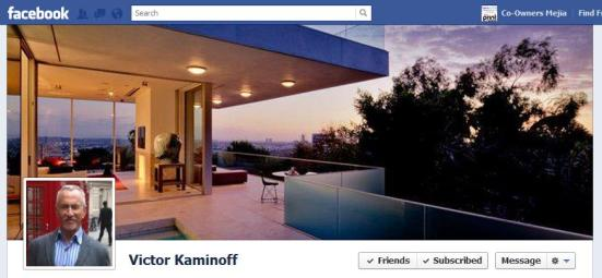 my Favorites:  Victor Kaminoff's Facebook Cover Photo