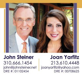 Real Estate Team Profile Pic - John Steiner & Joan Yarfitz